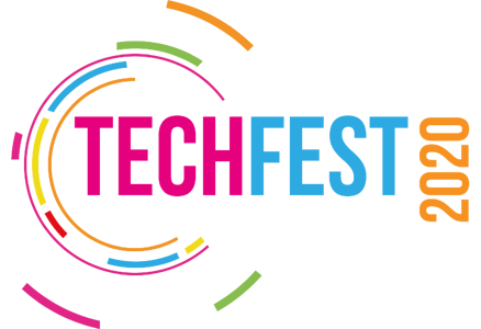 Techfest Virtual_Logo_White_No Date